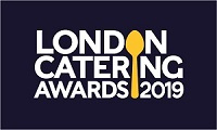 Logo for the London Catering Awards 2019